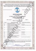 Свидетельство об аккредитации испытательной лаборатории № ИЛ/ЛРИ-00304*